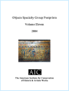 Objects Specialty Group Postprints Vol. 11 (2004) Electronic